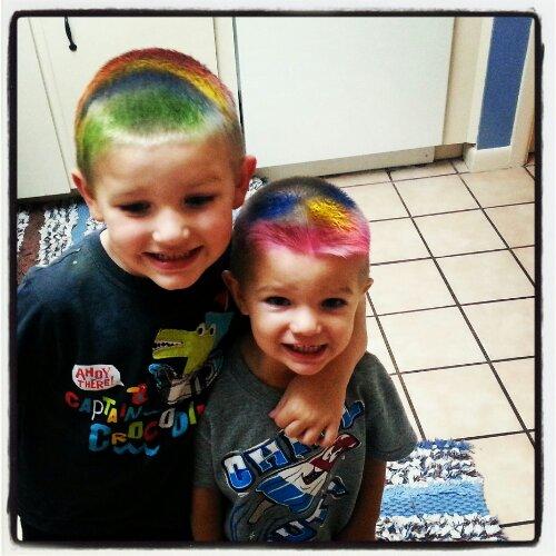 international homeschool spirit week crazy hair day motherhood
